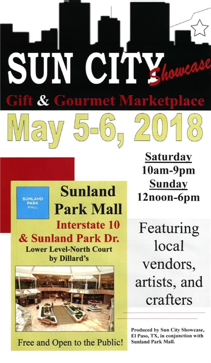 Sun City Showcase Gift and Gourmet Marketplace Flyer